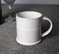 マグカップコーヒーカップセット中国磁器ラテカップのやや大容量マグカップ創造的な塗装マークカップルミルクカップ-7 / 380ml