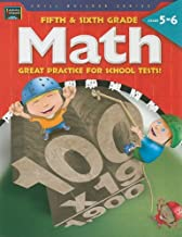 Fifth & Sixth Grade Math: Great Practice for School Tests! (Skill Builder Series)