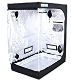 Zazzy Tent for Plants Indoor, 48'X24'X60' Plant Growing Tents 600D Mylar Reflective Grow Tent for Hydroponics Indoor Growing 4X2