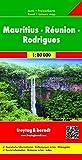 Mauritius - Reunion - Rodriguez Map (AUTO KARTE) (English, Spanish, French, Italian and German Edition)