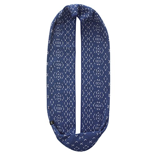 Buff Cotton Jacquard Infinity - ÉCharpe - Bleu 2016 Cache Nez