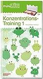miniLÜK-Übungshefte: miniLÜK: Kindergarten/Vorschule: Konzentrationstraining 1