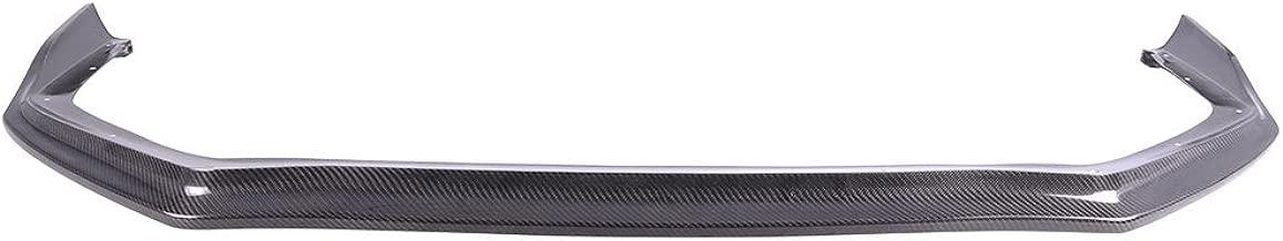 Front Bumper Lip Compatible With 2015-2018 Subaru WRX STI | 4Dr CS Style Front Lip Protector Splitter Carbon Fiber CF by IKON MOTORSPORTS | 2016 2017