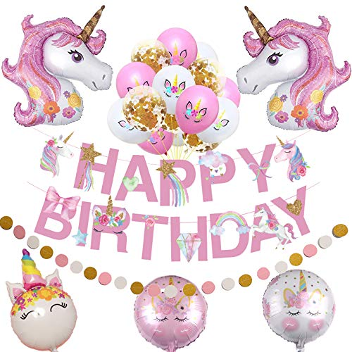 50% off Unicorn Birthday Decorations Clip the Extra 50% off Coupon, No Promo Code Needed 2