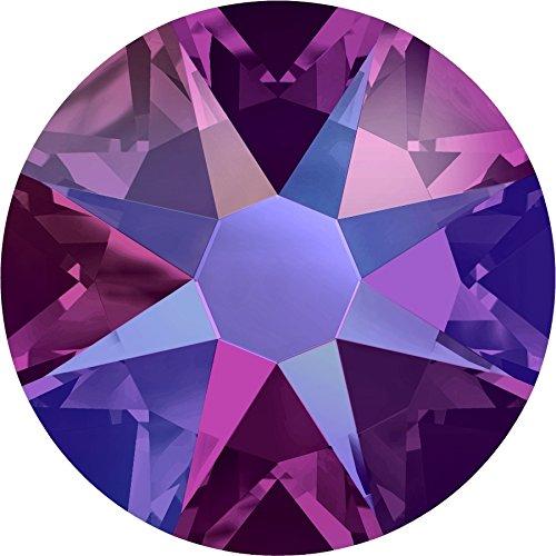 Swarovski® Kristalle 2088 ohne Kleber SS12 (ca. 3.1mm) 100 Stück Fuchsia Shimmer