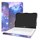Alapmk Protective Case for 13.3' LG Gram 13 13Z970 13Z980 13Z990 & ASUS ZenBook Flip S UX371EA/ASUS ZenBook Flip 13 UX363JA Laptop(Warning:Not Fit LG Gram 13 13Z960/13Z950),Galaxy