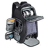 Beschoi Sac pour Appareil Photo, Sac à Dos Photo Grande Capacité Imperméable avec Housse Etanche Inclus pour DSLR Caméra Canon Nikon Sony (XL)