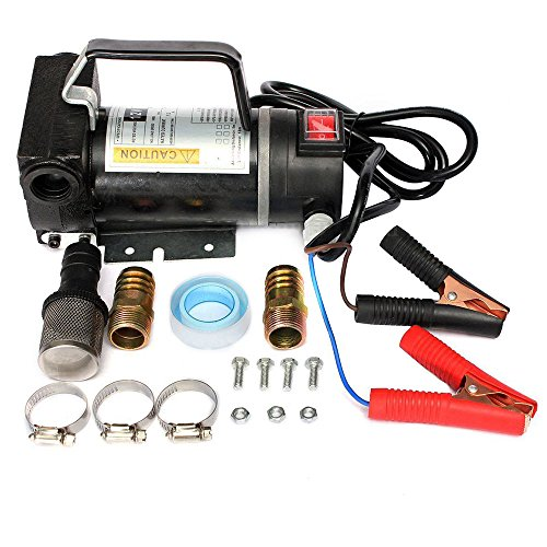 Obller électrique portable de voiture carburant Diesel Pompe de transfert d'huile Diesel kérosène 280 W 45L/min