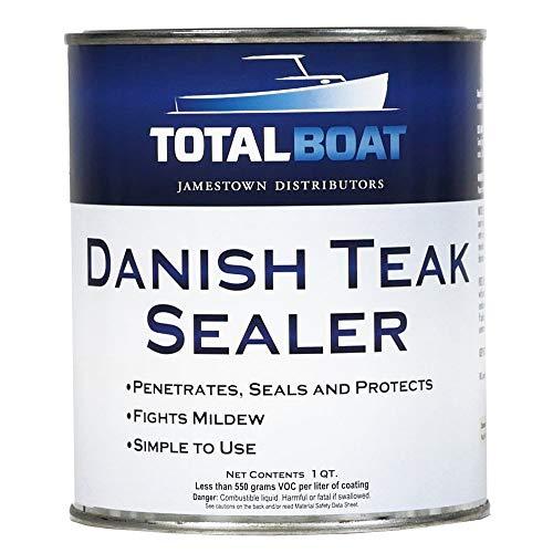 TotalBoat Danish Teak Sealer - Marine Grade Wood...
