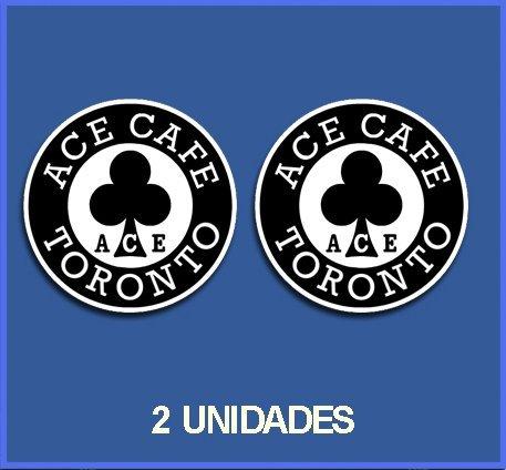 Ecoshirt J4-UFJA-6W38 Pegatinas Stickers Cafe Racer Ref: Dp10 Aufkleber Decal Autocollant Stiker 46, 5 cm