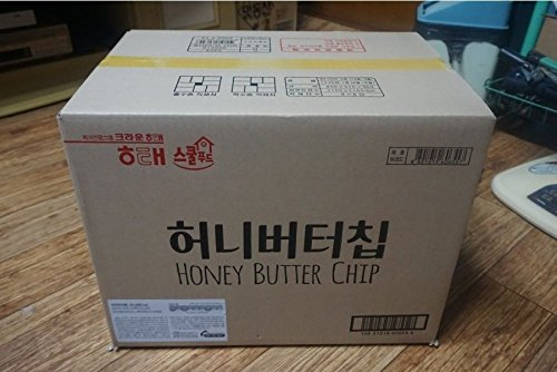 1箱 ハニーバターチップ新ヘテ韓国ポテトスナックチップスクラッカー 60グラム×16個 Honey Butter Chip [海外直発送]