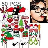 Luoshan 50 en 1 Decoraciones navideñas Decoraciones Creativas for Fiestas
