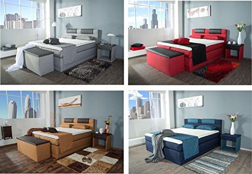 Piano Boxspringbett in über 70 Farben kaufen  Bild 1*