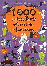 Cahiers de jeux pour Halloween 1000 autocollants - Monstres et fantômes