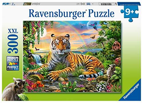 Ravensburger- Puzzle 300 pièces XXL Le Roi de la Jungle Bambini, Colore, 12896