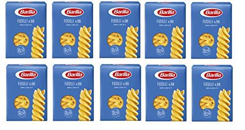 10x Pasta Barilla Fusilli Nr. 98 italienisch Nudeln 500 g pack