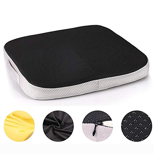 Comfort cushion, layer outdoor ergonomic cushion for best seating comfort, Office Chair Car Seat Cushion Non-Slip Orthopedic Memory Foam Coccyx and decompression Cushion-C