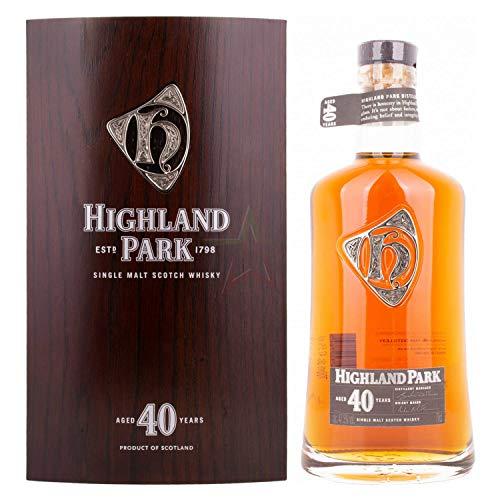 Highland Park Highland Park 40 Years Old Single Malt Scotch Whisky 47,5% Vol. 0,7L In Holzkiste - 700 ml