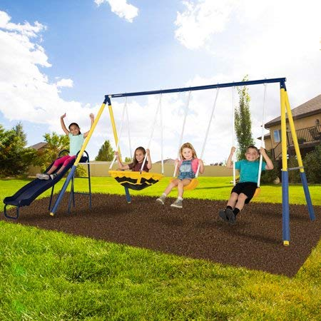 Sportspower Super Saucer Metal Swing Set