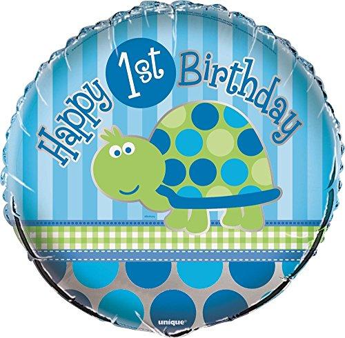 Accessoires pour fête, motif tortue bleue
