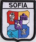 1000 Flags Sofia Bulgarien Flagge Bestickt Patch Badge