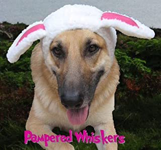 Pampered Whiskers The Sheepish One Sheep Costume hat for Dogs and Cats