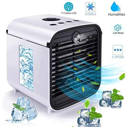 Nifogo Air Mini Cooler Aire Acondicionado Portátil, 3 en 1