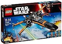 Construisez le X-Wing Fighter de Poen avec ses quatre fusils à ressorts et ses ailes qui se replient Inclut 3 figurines avec des armes et des accessoires assortis : Poe Dameron, équipage au sol de la Résistance, un pilote de X-Wing de la Résistance, ...
