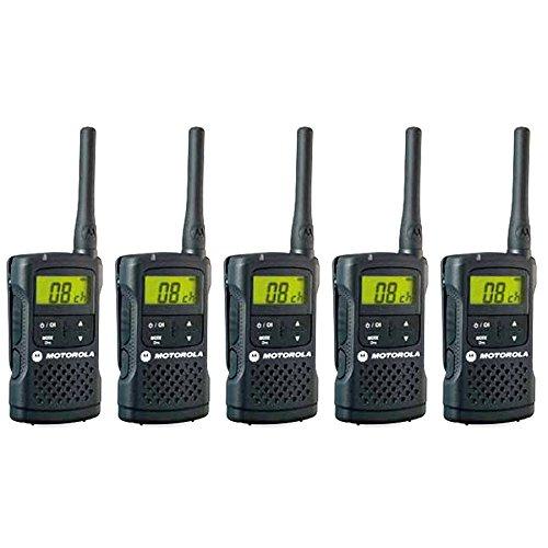 Motorola(モトローラ) 特定小電力トランシーバー CL08 (BLACK) ブラック 5台セット