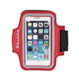 Lifeworks Sport Sleeve - Armband for iPhone and iPod (Red)