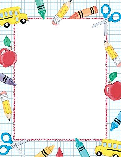 Great Papers! School Stuff Letterhead, 80 Count, 8.5'x11' (2013195)