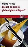 Qu Est Ce Que La Philo (Folio Essais) (French Edition) by Pierre Hadot (1995-11-01) - 01/11/1995
