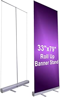 Economy Rollup Retractable Banner Stand 33
