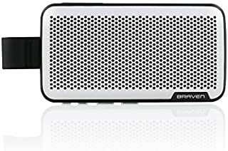 Braven Brava Premium Conference Call Speaker [2100 mAh] Car Speakerphone Accessory - Silver/Black