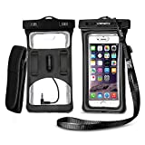 Floatable Waterproof Phone Case, Vansky Waterproof Phone Pouch with...