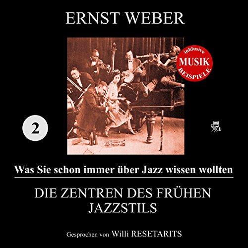 Die Zentren des frühen Jazzstils Titelbild