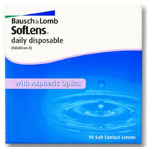 SofLens daily disposable Tageslinsen weich, 30 Stück BC 8.6 mm / DIA 14.2 / -9 Dioptrien