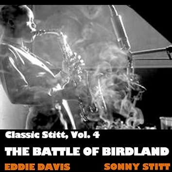 Classic Stitt, Vol. 4: The Battle Of Birdland