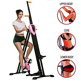 Home Stair Climber Machine, Folding Vertical Climber Cardio ...