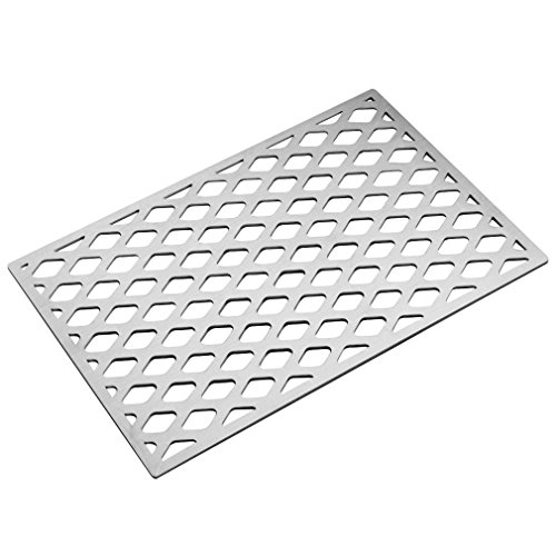 Stanbroil Cast Stainless Steel Diamond Pattern Replacement Cooking Grate for Weber 7528 7524, Fits Genesis E, Genesis EP and Genesis S 300 Series Grills,Lowes Model Grills