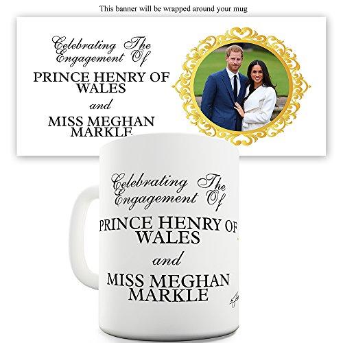Twisted Envy celebra la Engagement Prince Harry tazza in ceramica