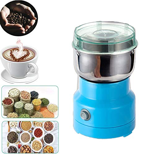 XYWN Small Coffee Grinder Electric Grain Grinder Machine Upgraded Coffee Mill Grinder for Coffee Bean, Nut, Spices, Seeds, Grains