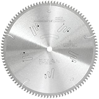 Amana Tool A.G.E. Series MD12-106-5/8 Heavy Duty Miter/Double Miter 12-Inch x 100 Tooth 4 ATB+R 5/8 Bore Saw Blade