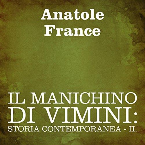 Il manichino di vimini (Italian Edition) cover art
