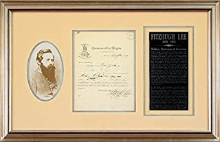 Major General Fitzhugh Lee - Partial Autograph Letter Signed 05/05/1887