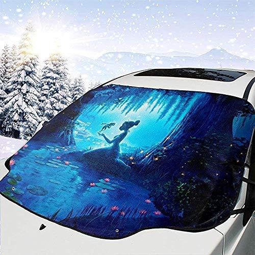 MaMartha Car Windshield Snow Cover Pinocchio Auto Windschutzscheibe Schneedecke,Auto Sonnenschutz,Eisentfernung Sonnenschutz für den Winterschutz Kratzer verhindern Wasserdichtes Frostschutzmittel