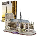 CubicFun National Geographic 3D Puzzles for Adults and Kids, France Architecture...