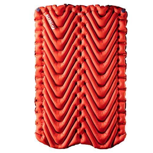 Klymit Aufblasbare Outdoor Campingmatte Luftmatratze Unisex isoliert V Neue Schlafsack Pad für Camping XL Orange/Char Black