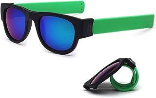 59f3929801 TUOTUO Gafas de Sol Polarizadas para Hombre Mujer, Súper Liviana Plegables  Lentes Deportivas Protección 100