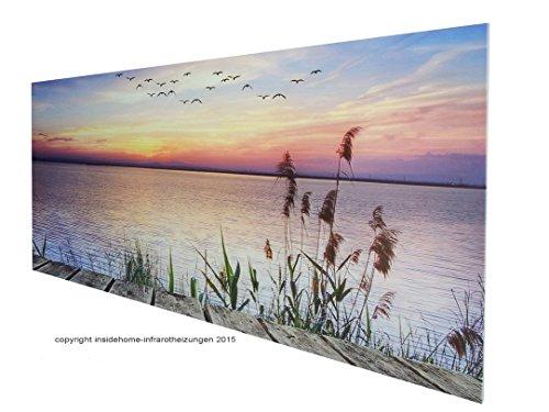"""Infrarotheizung Premium rahmenlos mit Bild 300 Watt 60×60 Motiv """"Holzfenster"""" Bild 4*"""